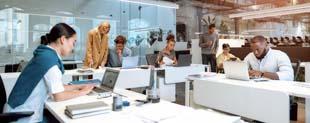 Características principais dos ambientes de coworking