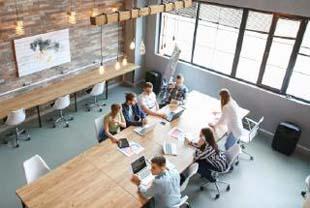 Salas privativas e coworking: imóvel comercial para alugar